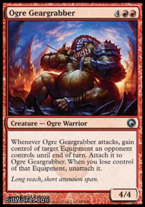 Ogre Geargrabber, Scars of Mirrodin, Magic the Gathering