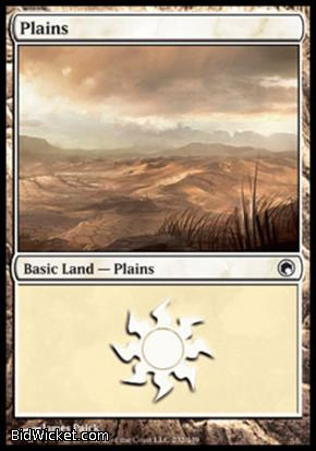 Plains (232), Scars of Mirrodin, Magic the Gathering