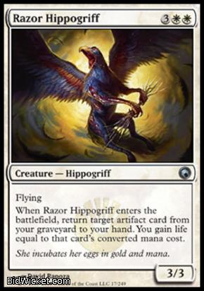 Razor Hippogriff, Scars of Mirrodin, Magic the Gathering