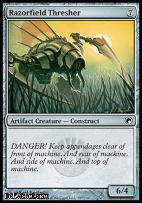 Razorfield Thresher, Scars of Mirrodin, Magic the Gathering