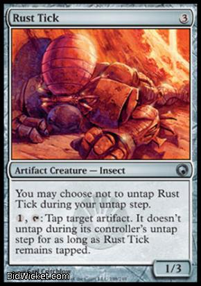 Rust Tick, Scars of Mirrodin, Magic the Gathering