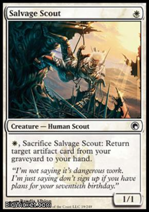Salvage Scout, Scars of Mirrodin, Magic the Gathering