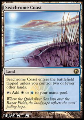 Seachrome Coast, Scars of Mirrodin, Magic the Gathering