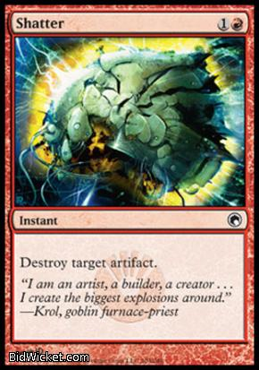 Shatter, Scars of Mirrodin, Magic the Gathering