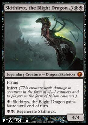 Skithiryx, the Blight Dragon, Scars of Mirrodin, Magic the Gathering