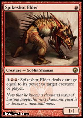 Spikeshot Elder, Scars of Mirrodin, Magic the Gathering