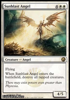 Sunblast Angel, Scars of Mirrodin, Magic the Gathering