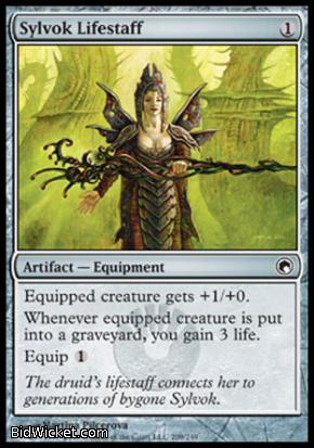 Sylvok Lifestaff, Scars of Mirrodin, Magic the Gathering