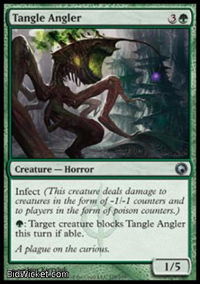 Tangle Angler, Scars of Mirrodin, Magic the Gathering
