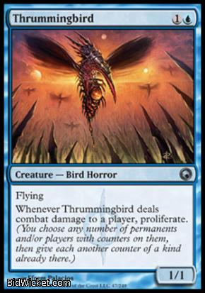 Thrummingbird, Scars of Mirrodin, Magic the Gathering