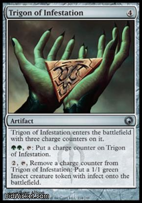 Trigon of Infestation, Scars of Mirrodin, Magic the Gathering