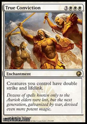 True Conviction, Scars of Mirrodin, Magic the Gathering