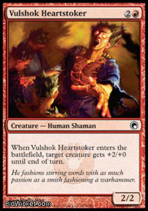 Vulshok Heartstoker, Scars of Mirrodin, Magic the Gathering