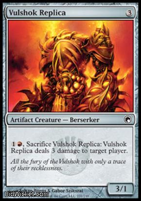 Vulshok Replica, Scars of Mirrodin, Magic the Gathering
