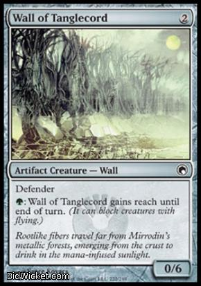 Wall of Tanglecord, Scars of Mirrodin, Magic the Gathering