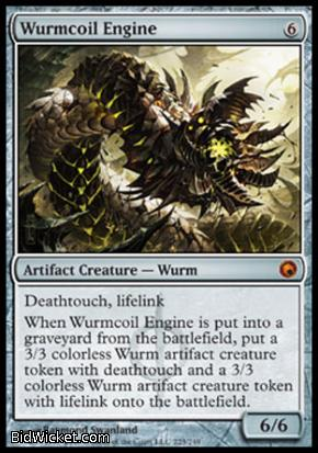 Wurmcoil Engine, Scars of Mirrodin, Magic the Gathering