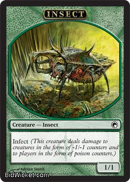 Insect (Token), Scars of Mirrodin, Magic the Gathering