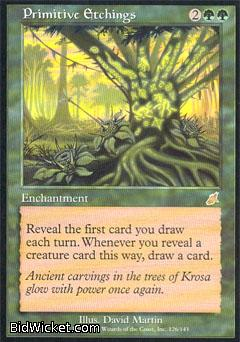 Primitive Etchings, Scourge, Magic the Gathering