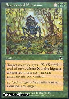 Accelerated Mutation, Scourge, Magic the Gathering