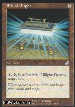 Ark of Blight, Scourge, Magic the Gathering