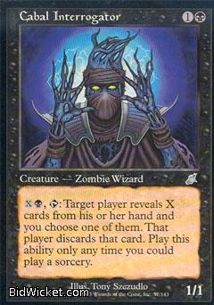 Cabal Interrogator, Scourge, Magic the Gathering