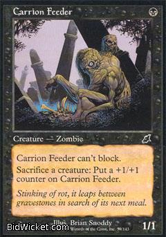 Carrion Feeder, Scourge, Magic the Gathering
