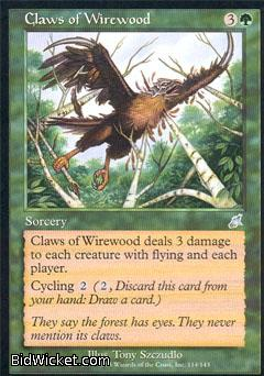 Claws of Wirewood, Scourge, Magic the Gathering