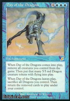 Day of the Dragons, Scourge, Magic the Gathering