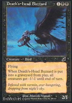 Death's-Head Buzzard, Scourge, Magic the Gathering