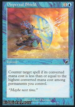 Dispersal Shield, Scourge, Magic the Gathering