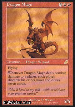 Dragon Mage, Scourge, Magic the Gathering