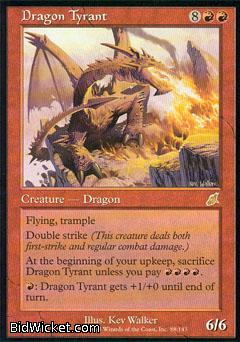 Dragon Tyrant, Scourge, Magic the Gathering