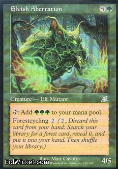 Elvish Aberration, Scourge, Magic the Gathering