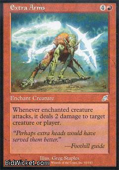 Extra Arms, Scourge, Magic the Gathering