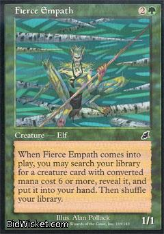 Fierce Empath, Scourge, Magic the Gathering