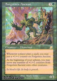 Forgotten Ancient, Scourge, Magic the Gathering