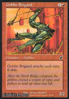 Goblin Brigand, Scourge, Magic the Gathering