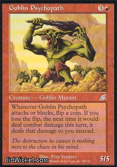 Goblin Psychopath, Scourge, Magic the Gathering