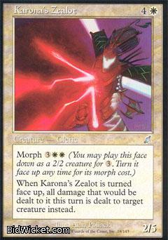 Karona's Zealot, Scourge, Magic the Gathering