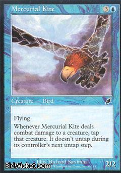 Mercurial Kite, Scourge, Magic the Gathering