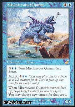 Mischievous Quanar, Scourge, Magic the Gathering