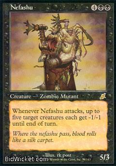Nefashu, Scourge, Magic the Gathering