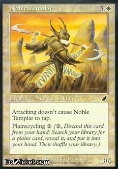 Noble Templar, Scourge, Magic the Gathering