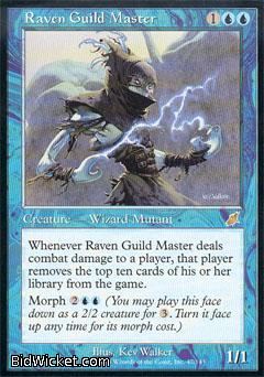 Raven Guild Master, Scourge, Magic the Gathering