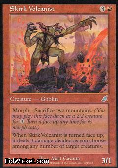 Skirk Volcanist, Scourge, Magic the Gathering
