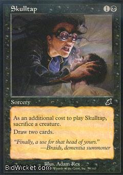 Skulltap, Scourge, Magic the Gathering