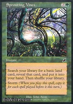 Sprouting Vines, Scourge, Magic the Gathering
