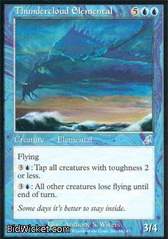 Thundercloud Elemental, Scourge, Magic the Gathering