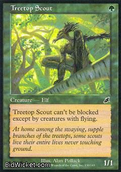 Treetop Scout, Scourge, Magic the Gathering