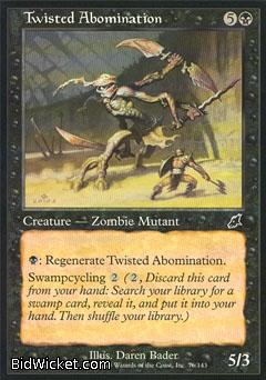 Twisted Abomination, Scourge, Magic the Gathering